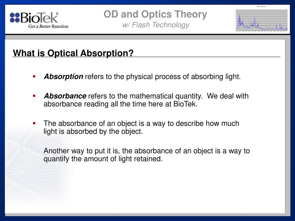 What is optics 65