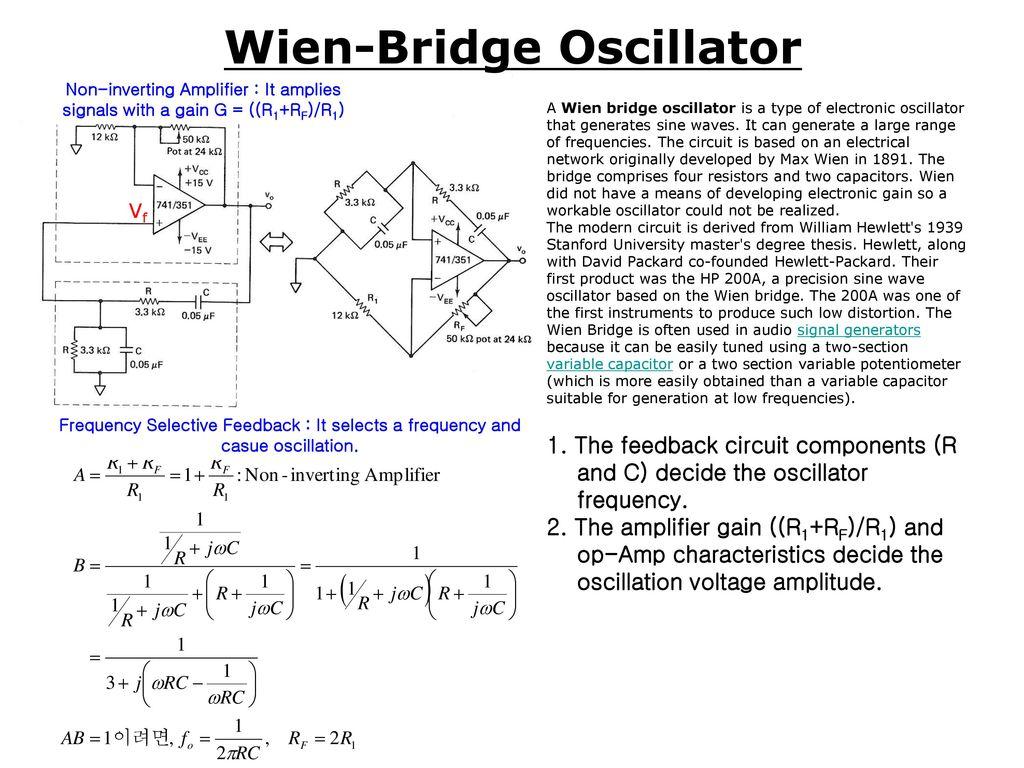 Chapter 6 Active Filters Oscillators Ppt Download Variable Voltage Frequency Wien Audio Bridge Oscillator Circuit 26