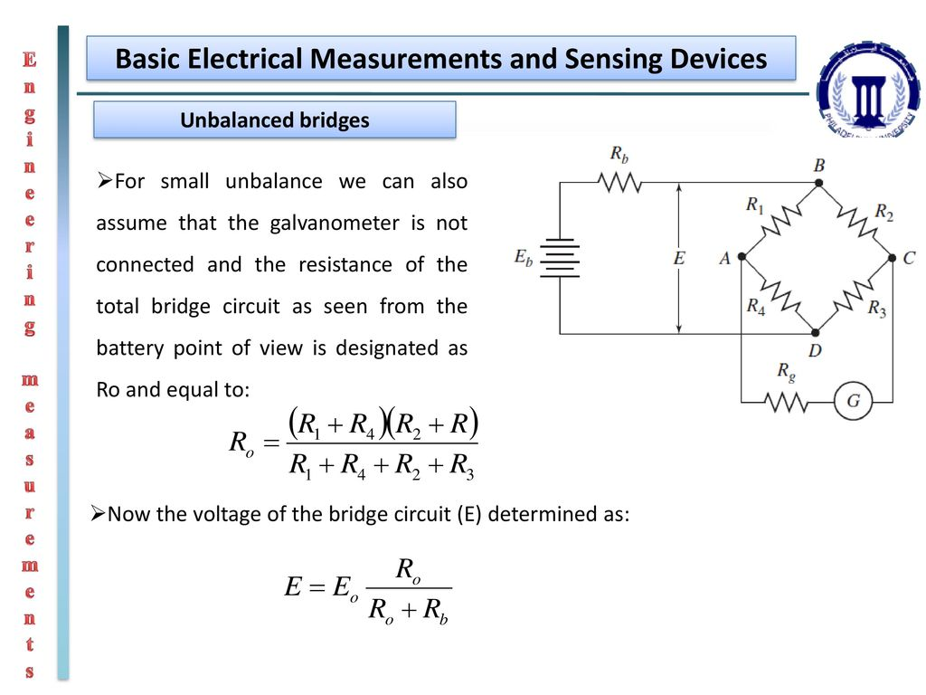 Engineering Measurements Ppt Download Basics Of Electrical Circuit Basic And Sensing Devices