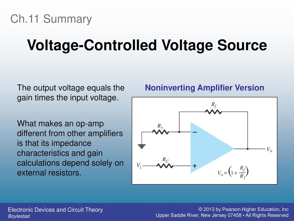 Electronic Devices And Circuit Theory Ppt Download Diagram Voltage Source 9 Controlled