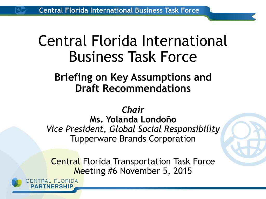 November 5, :30 am to 11:00 am Central Florida
