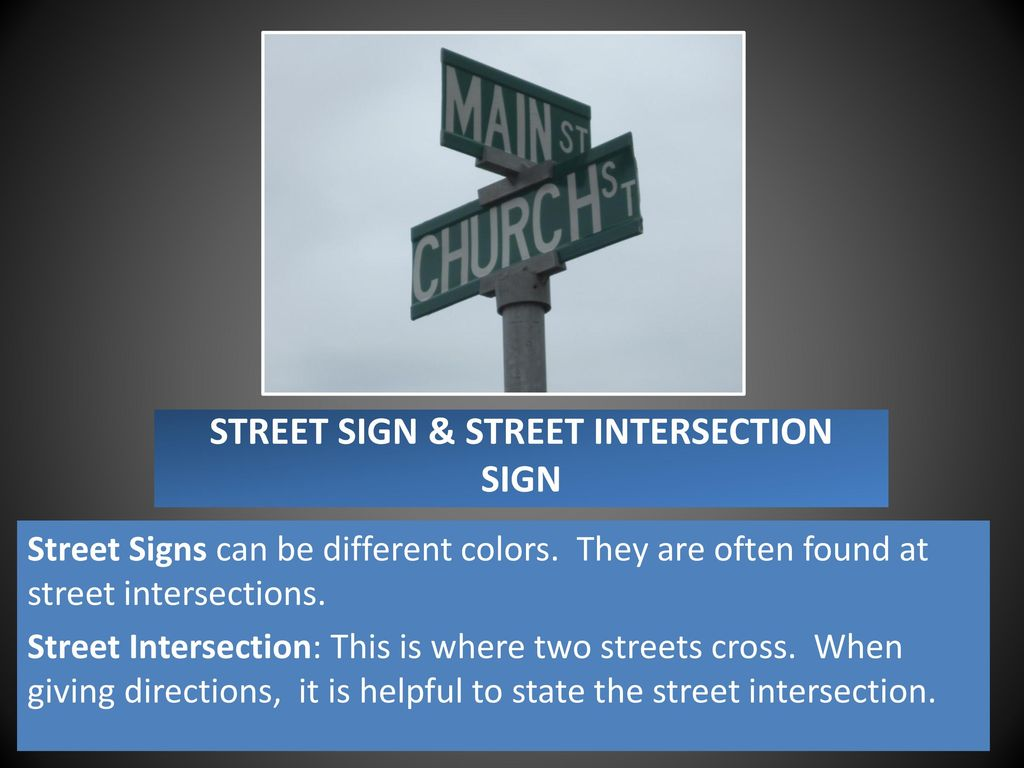 Street Signs Traffic Symbols What They Mean What To Do Ppt