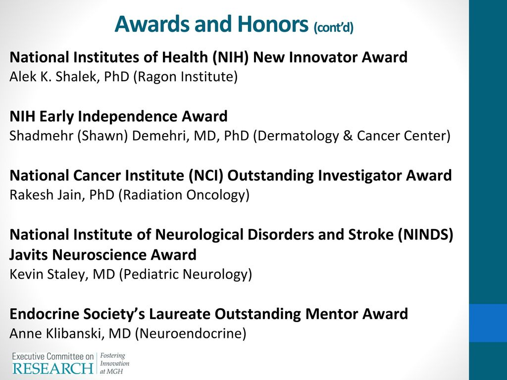 Awards and Honors National Medal of Science - ppt download