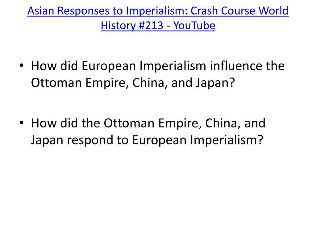 crash course imperialism
