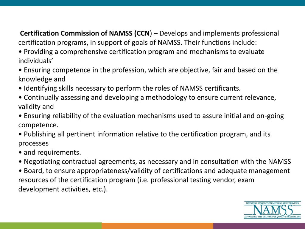 Namss Update Ppt Download