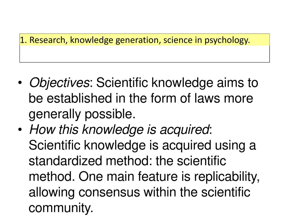 Scientific knowledge and methods of scientific research 36
