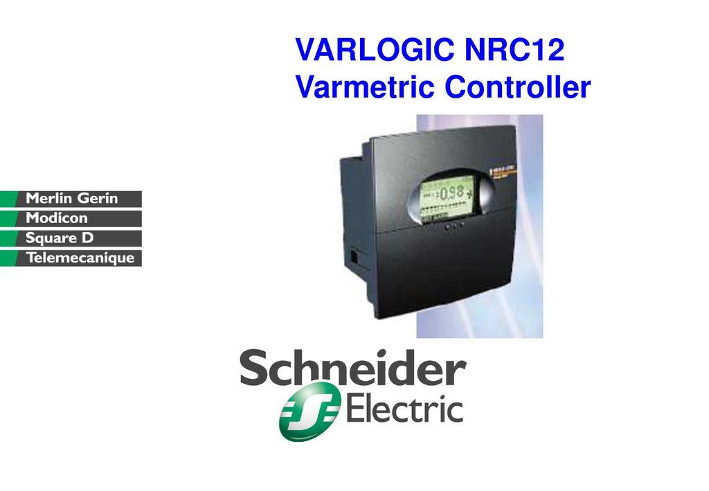 Schneider electric varlogic nr12 merlin gerin 52449 power factor.