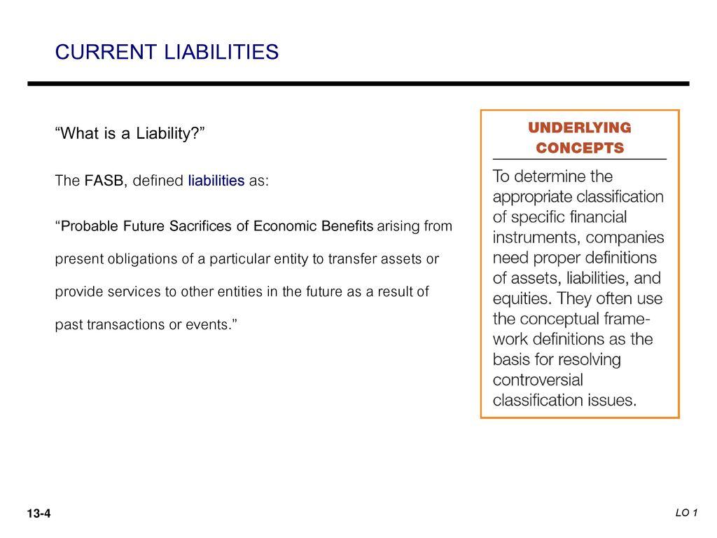 What is a liability 30