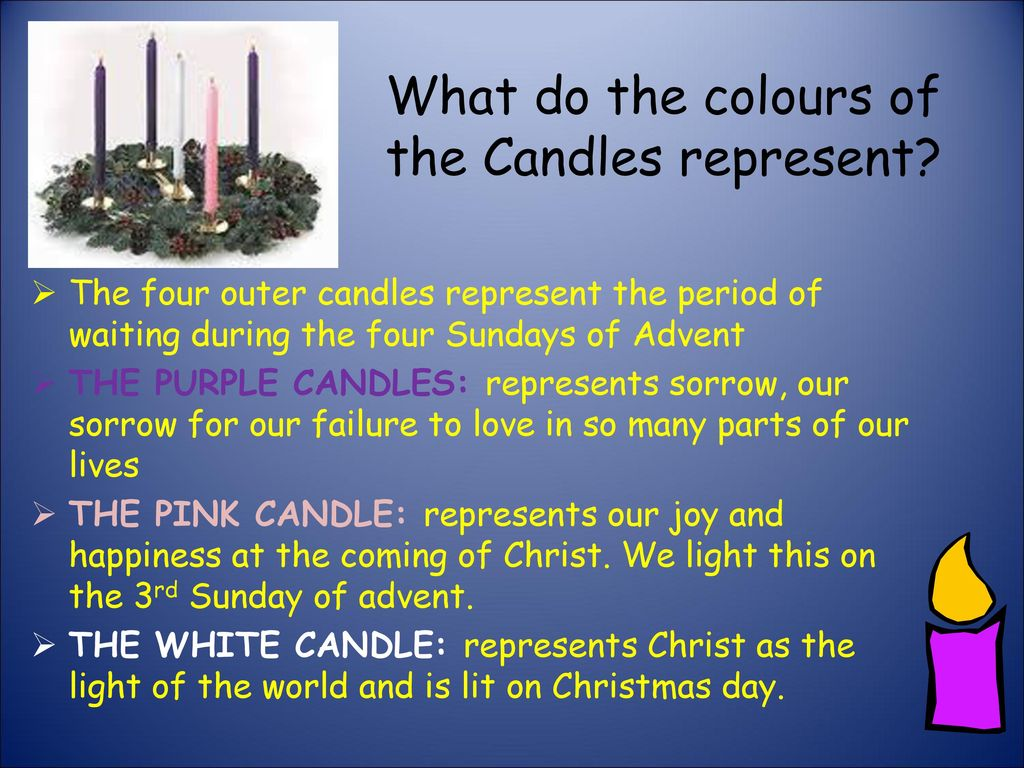 What do we do during advent