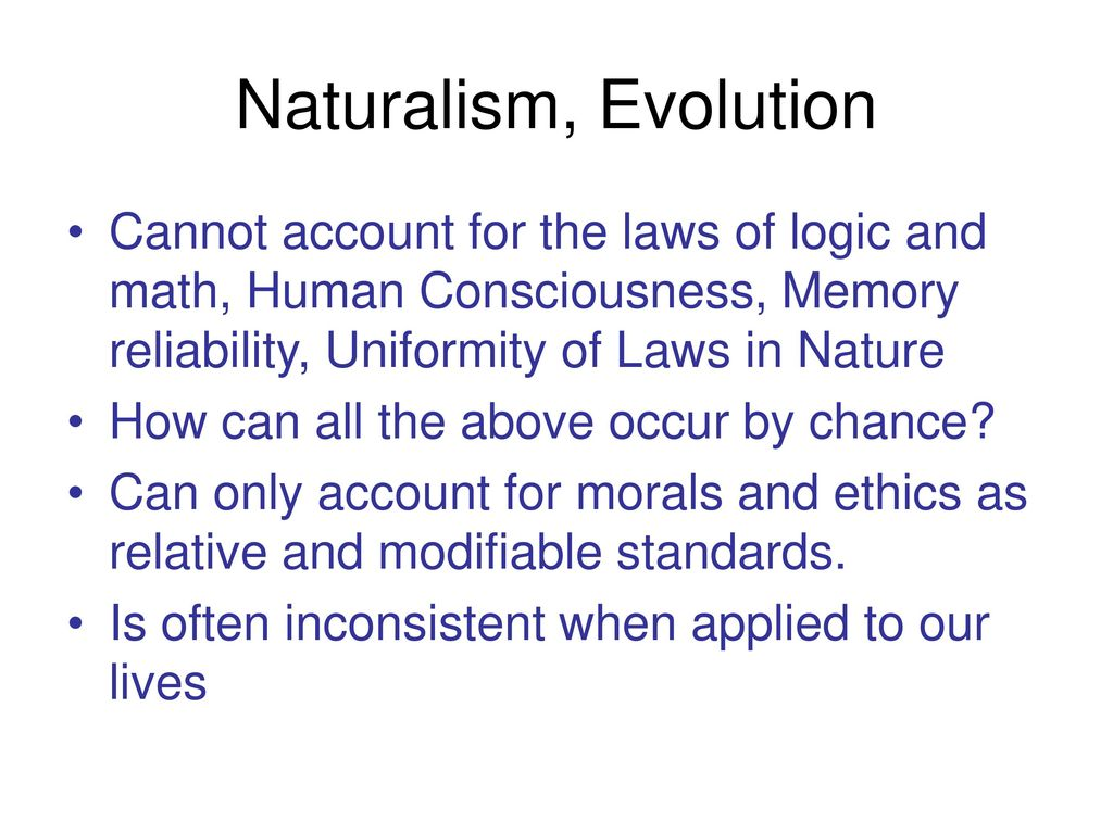 the law of life naturalism