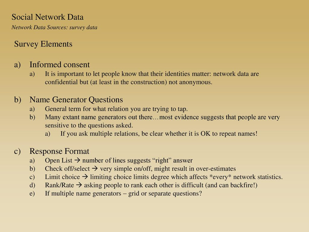 network data collection ppt download