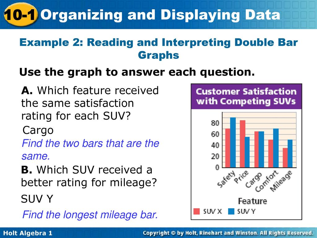 organizing and displaying data - ppt download