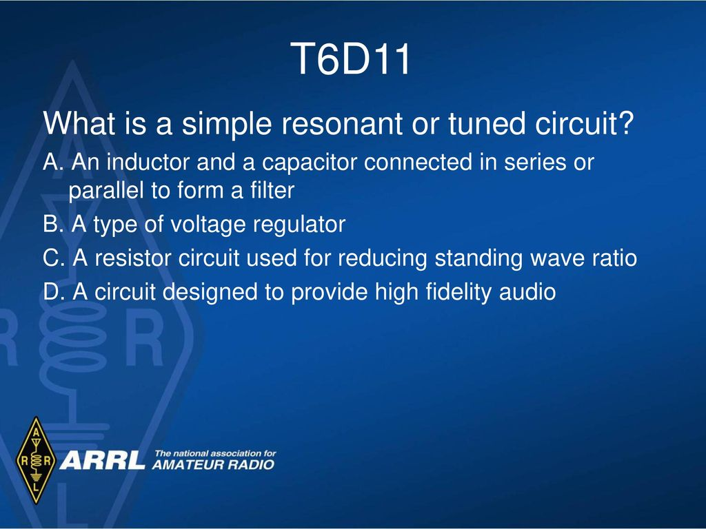Basic Electricity Circuits Ppt Download Circuit That Shows A Capacitor Connected In Parallel And An Inductor T6d11 What Is Simple Resonant Or Tuned