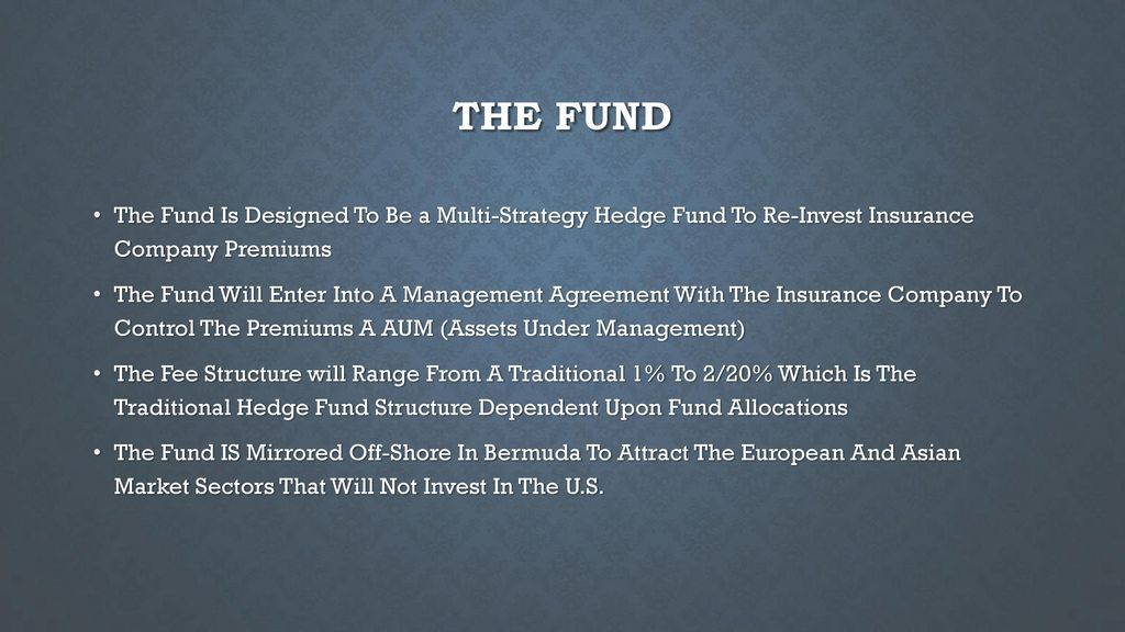 Combined With Fortress Fund Ppt Download