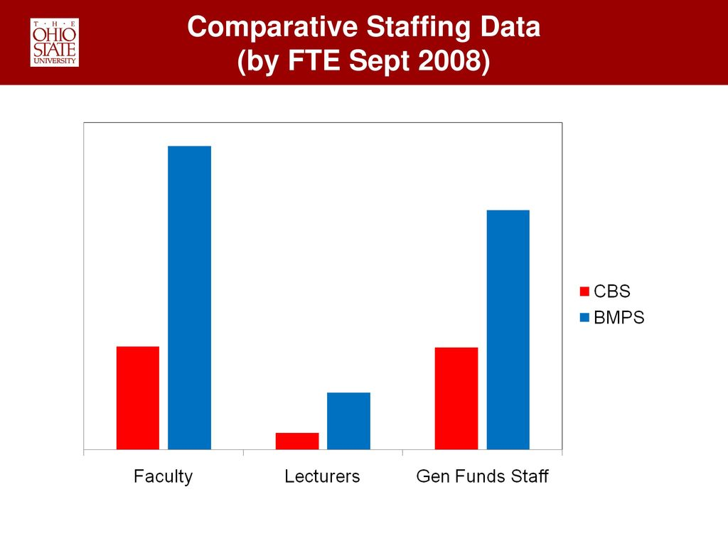 Comparative Staffing Data
