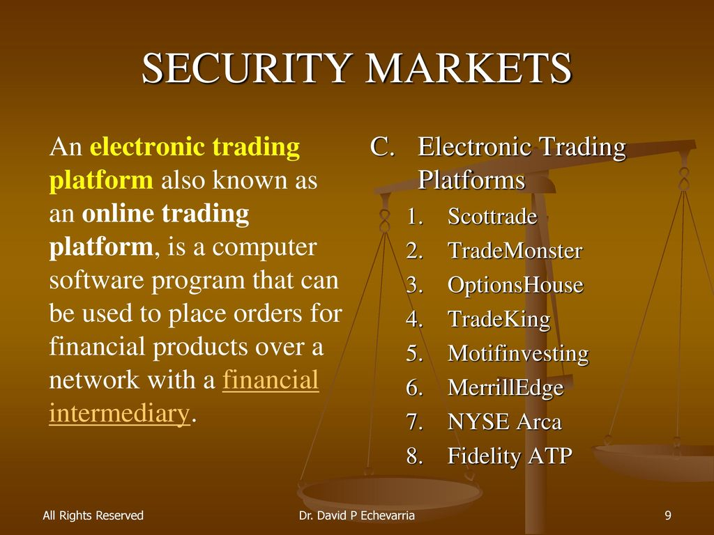 Stock Equity Markets Ppt Download