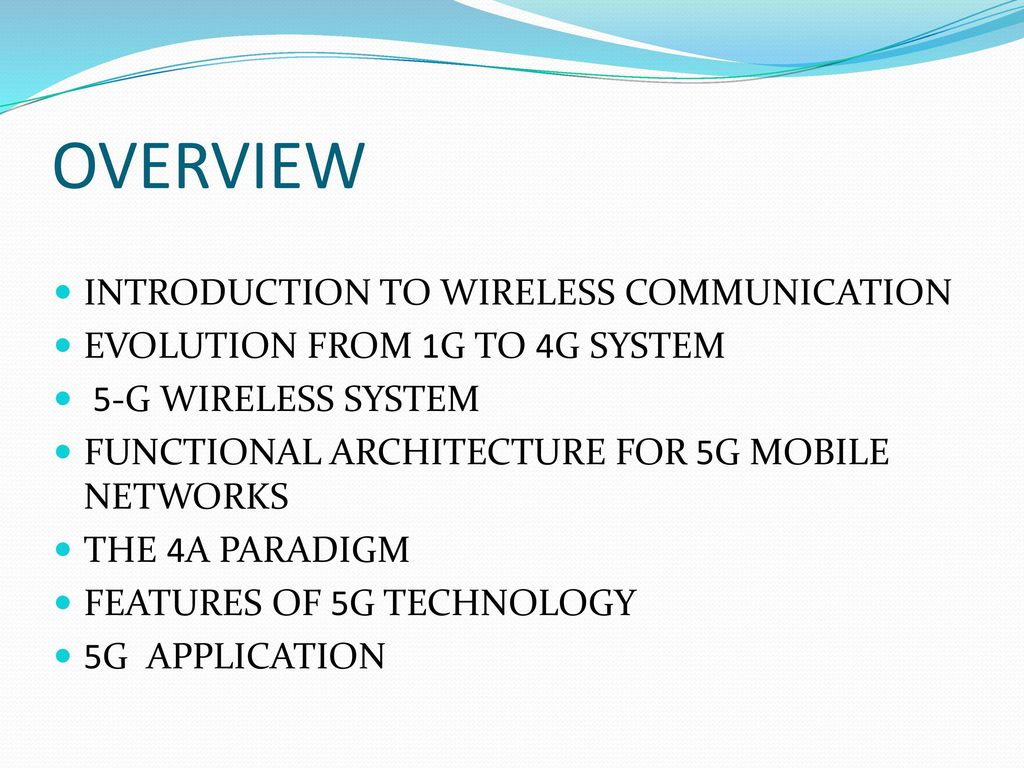 5G WIRELESS Technology  - ppt download