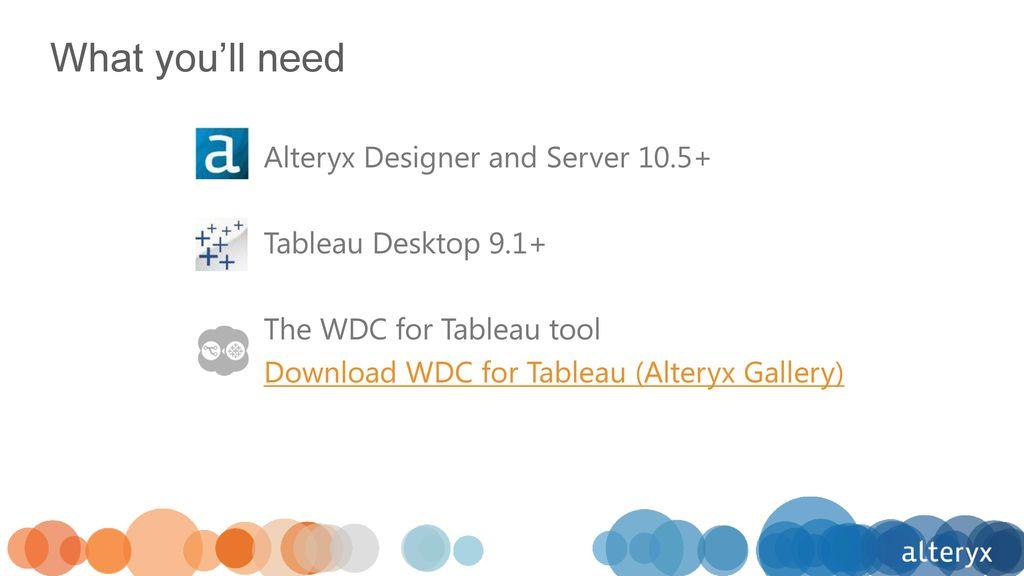 Alteryx Gallery Download