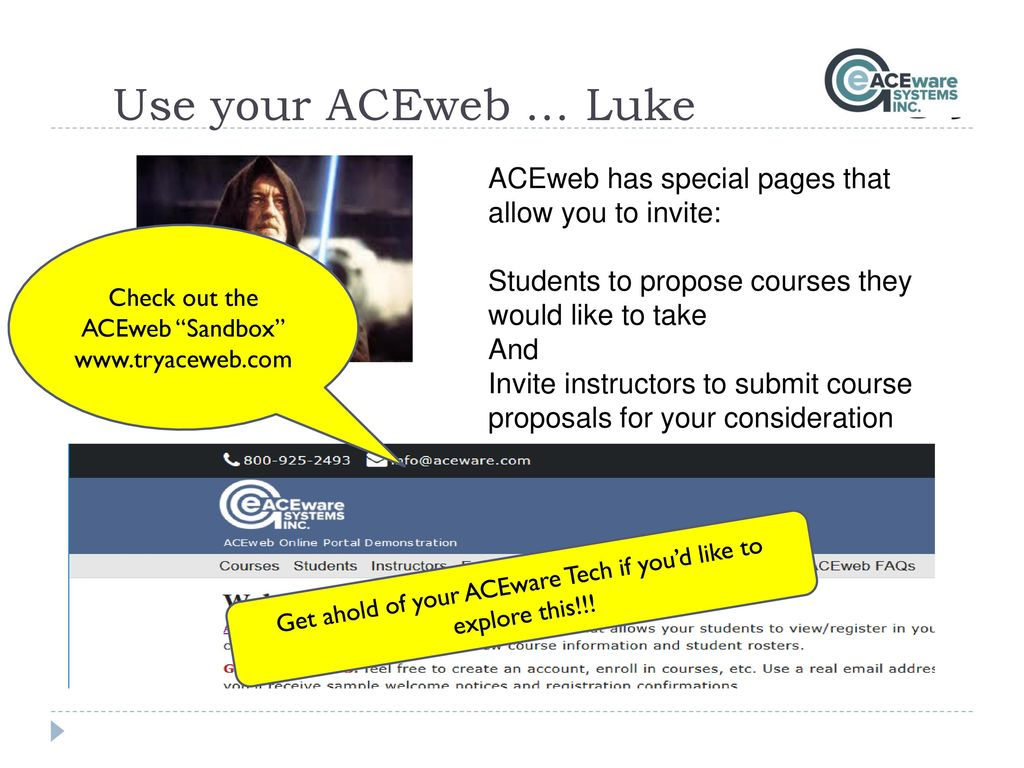 Aceweb an aceware presentation - ppt download