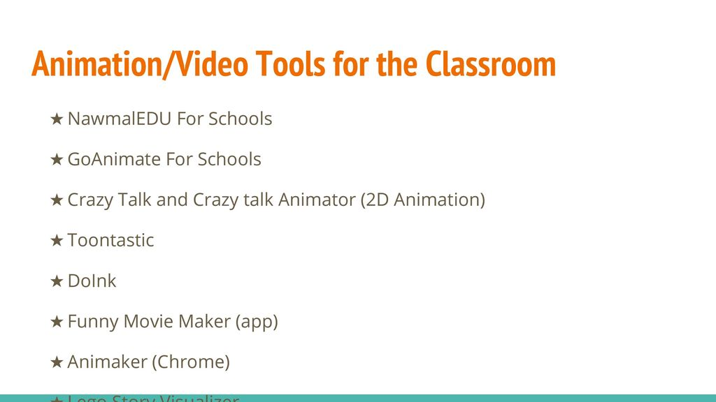 Using Animation and Video to Engage and Enhance Student
