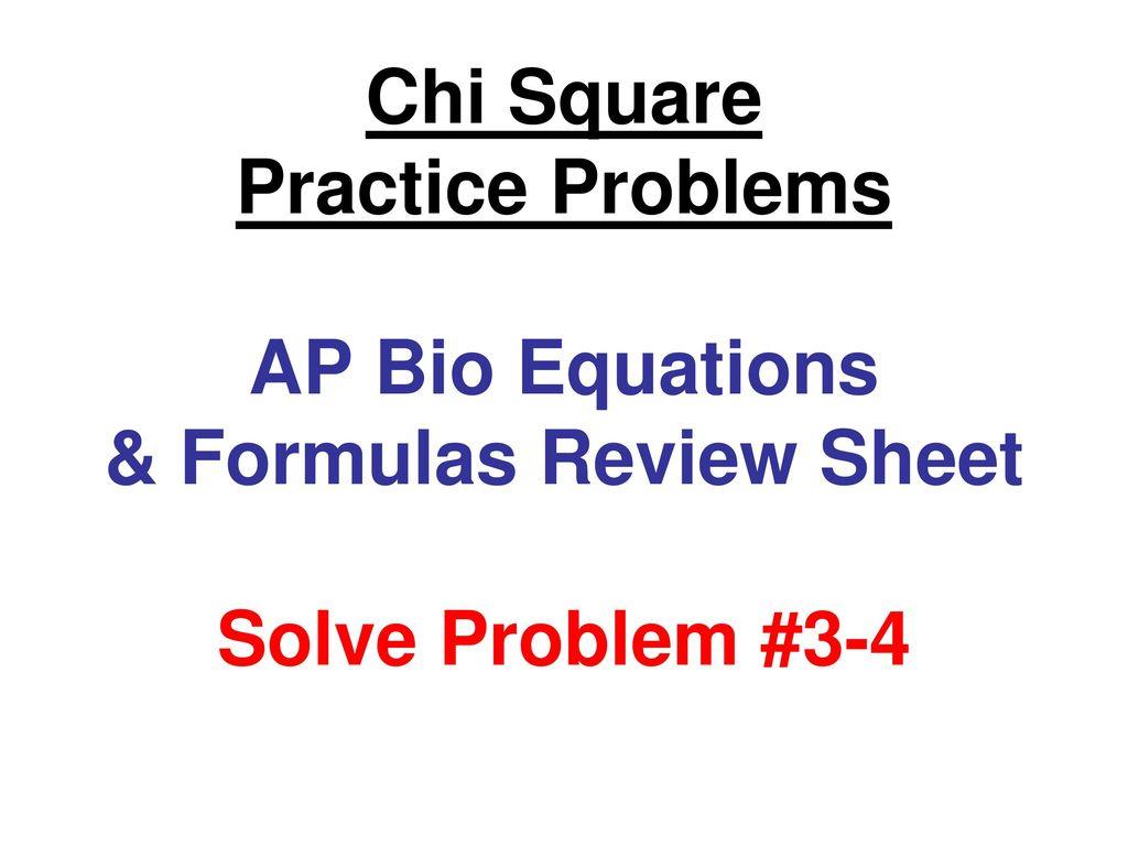 ap biology formula sheet 2020