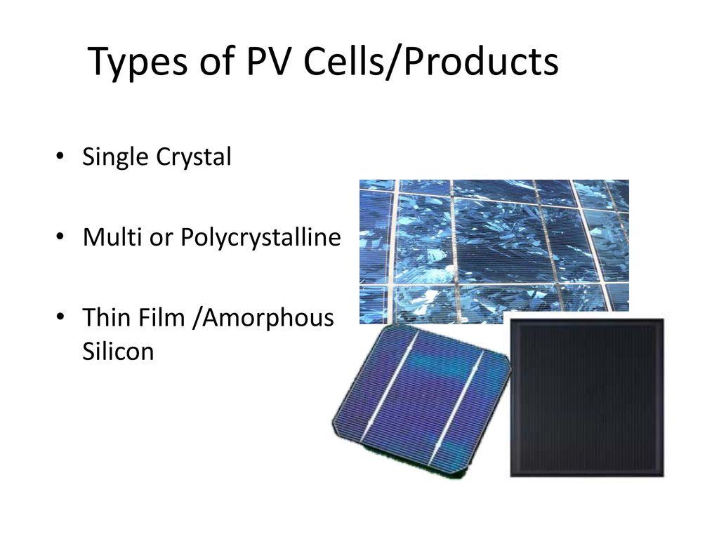 Cells, Modules, & Arrays. - ppt download