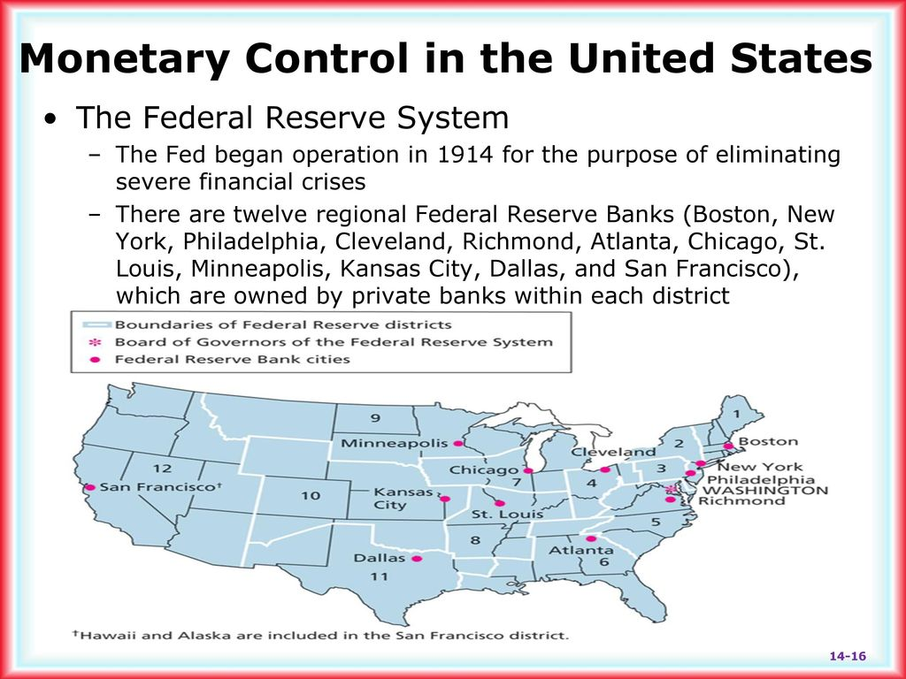 Chapter 14 Lecture - Monetary Policy and the Federal Reserve