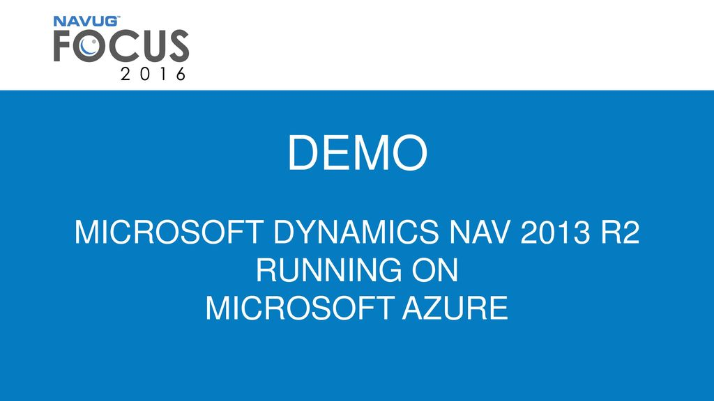 IT06 – HAVE YOUR OWN DYNAMICS NAV TEST ENVIRONMENT IN 90