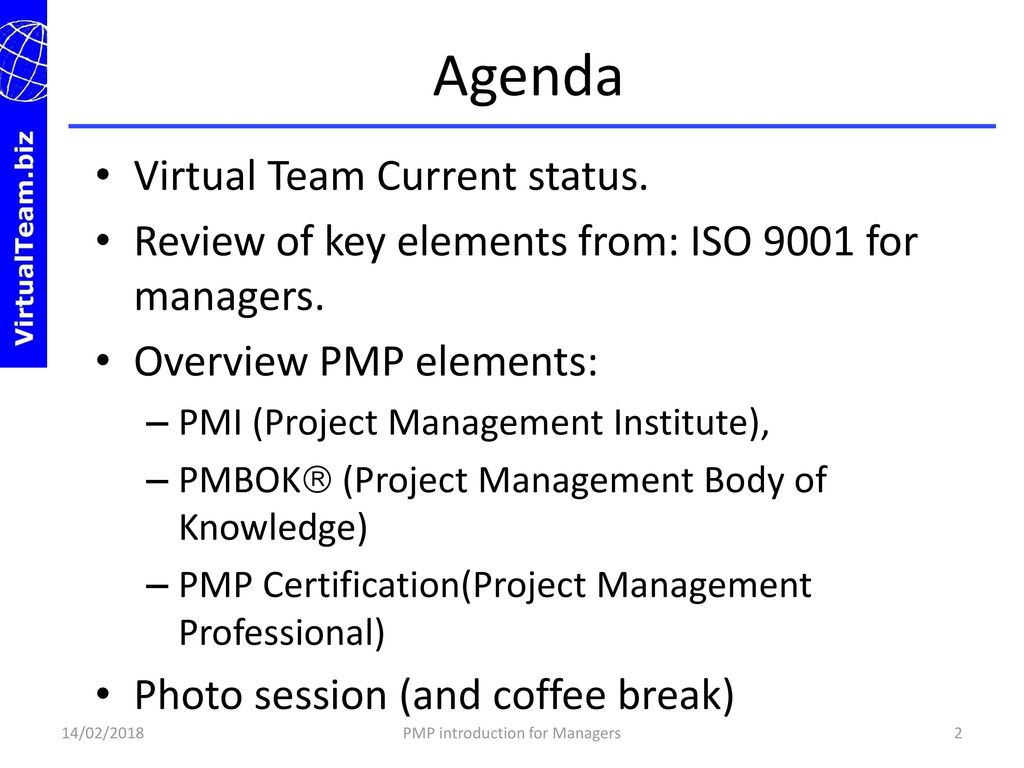 Welcome To Pmp Certification Introduction For Managers Ppt Download