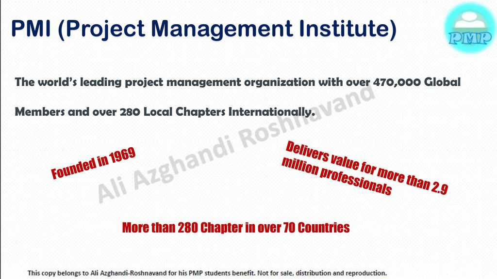 Session One Introduction To Pmp Ppt Download