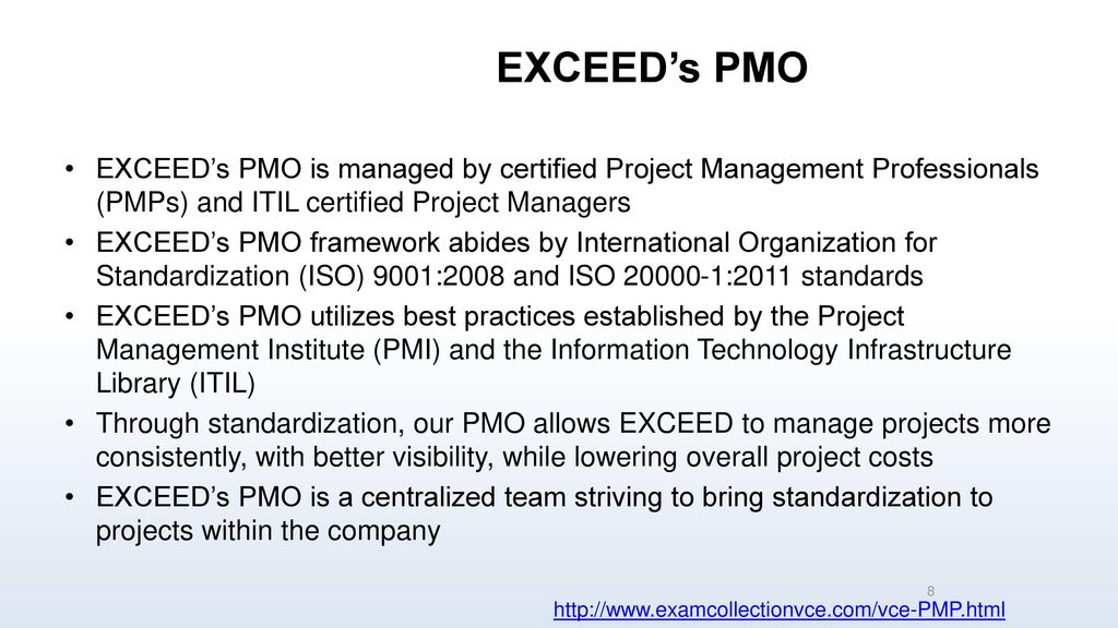 Project Management Professional Ppt Download