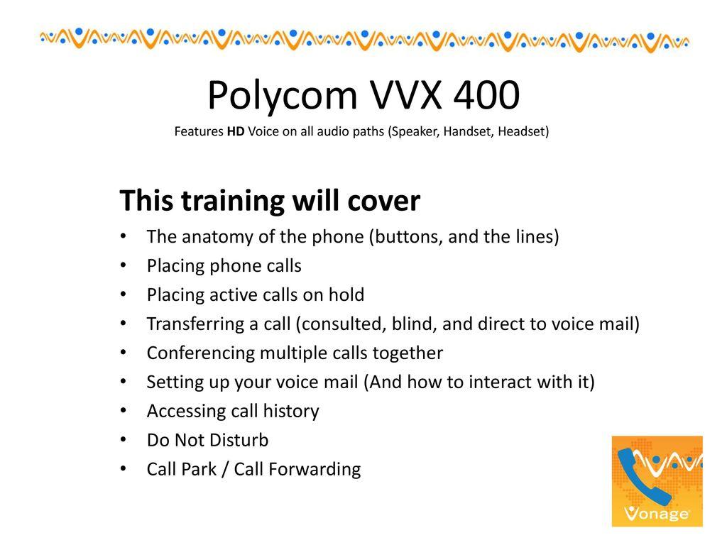 Polycom VVX ppt download