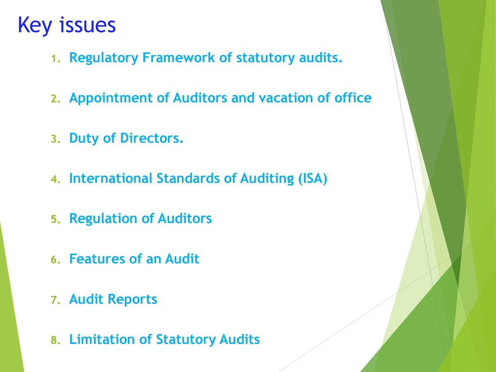 An audit is ... Features of audits 81