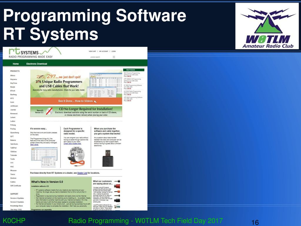 PC Programming Your Radio - ppt download