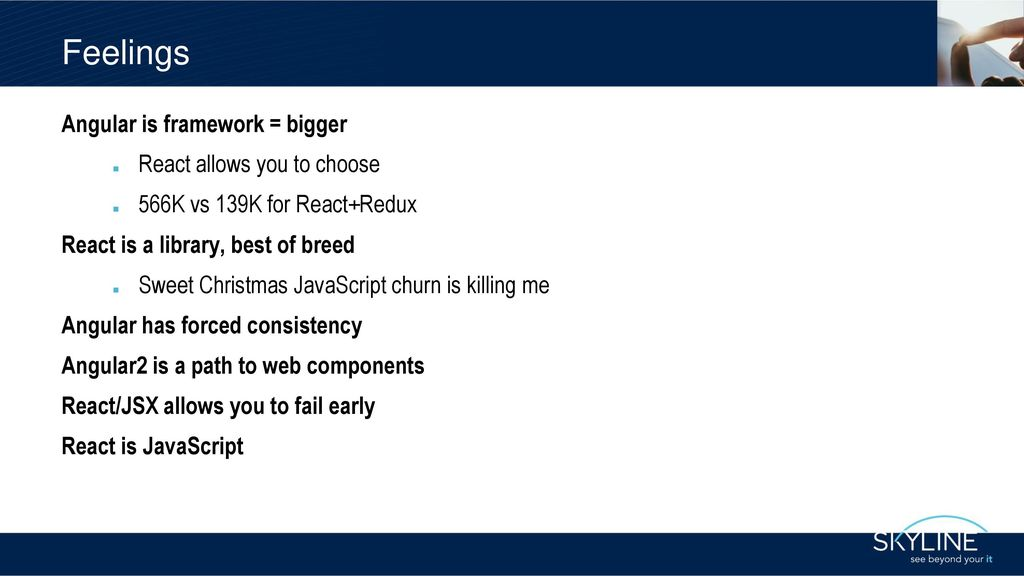 Angular vs React John - ppt download