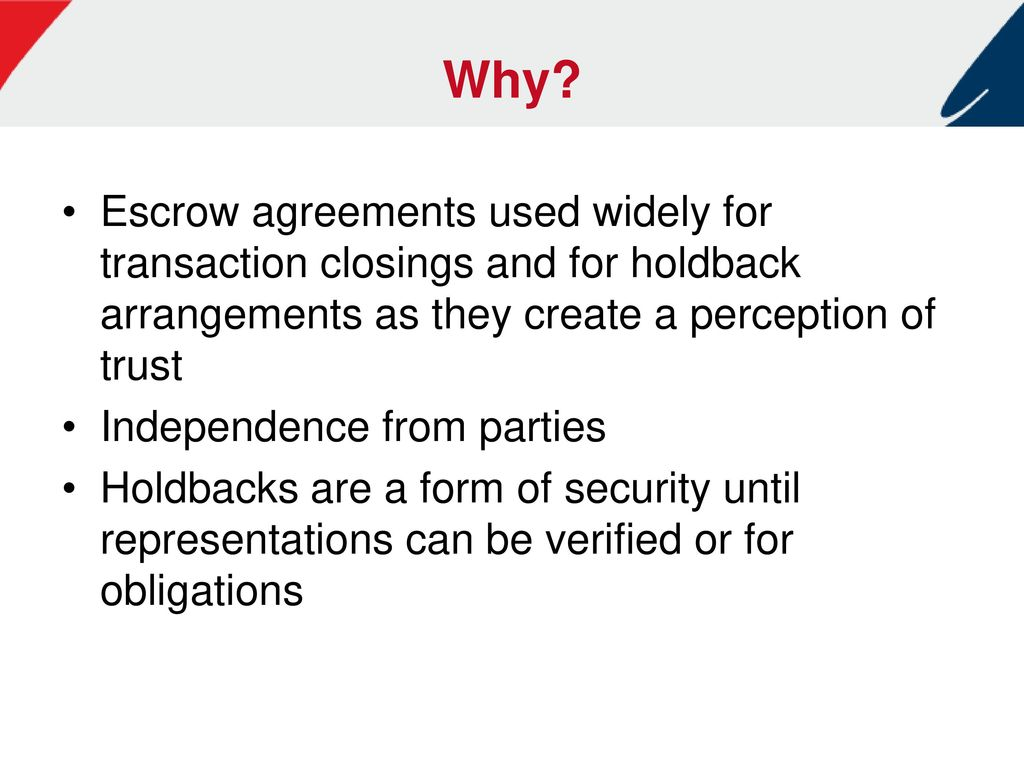 Financial Assurances And Protections In Business Transactions Ppt
