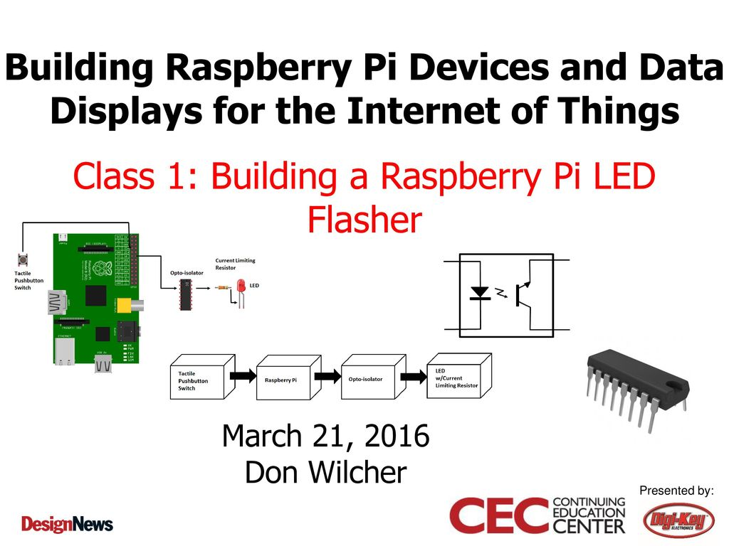 Class 1 Building A Raspberry Pi Led Flasher Ppt Download This Give Similar Circuit With The Previous Transistor