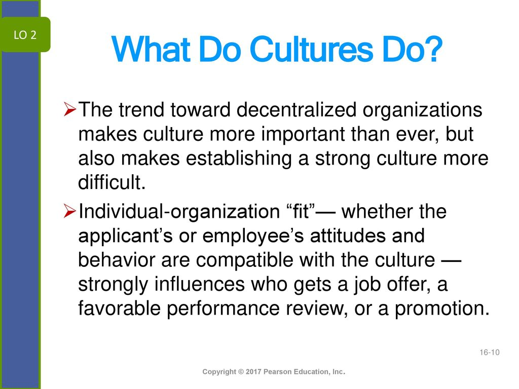 Why culture of behavior is so important