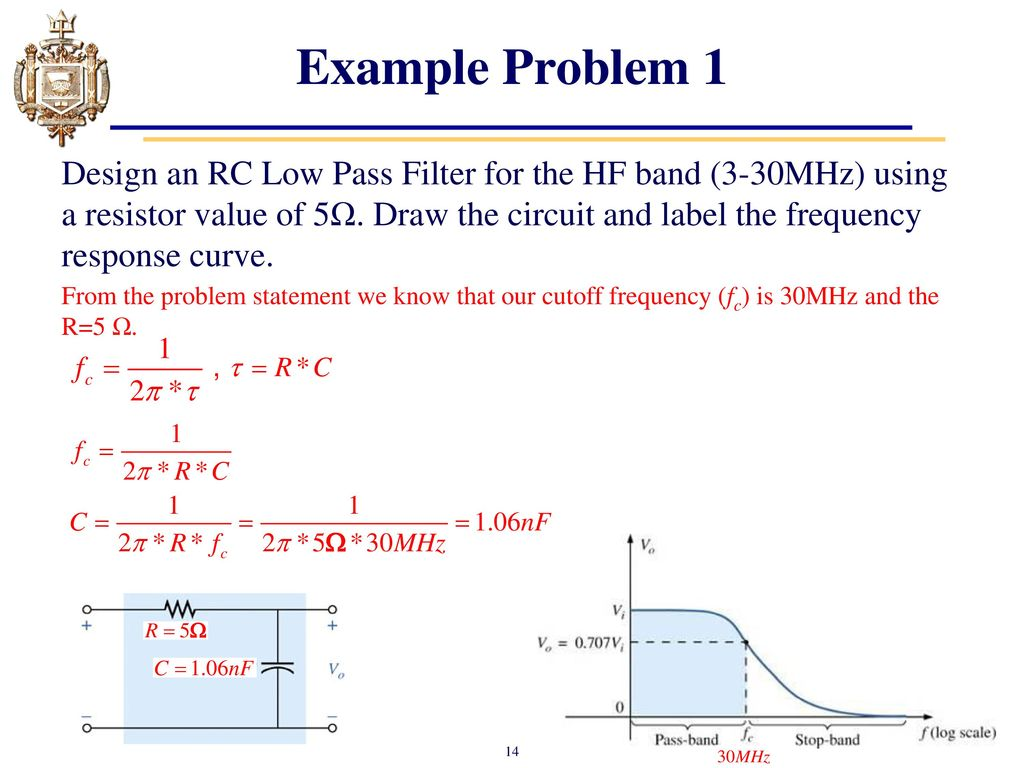 Lesson 24: Introduction to Filters - ppt download