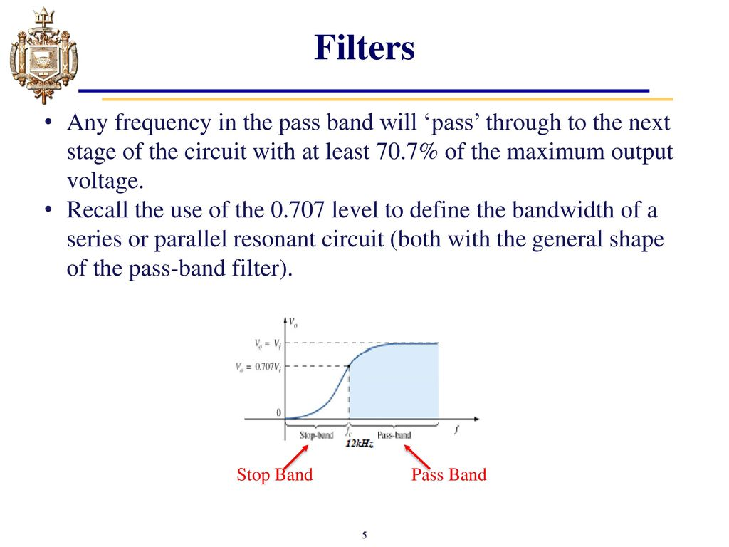 Lesson 24 Introduction To Filters Ppt Download Band Stop Filter Circuit Design And Applications 5