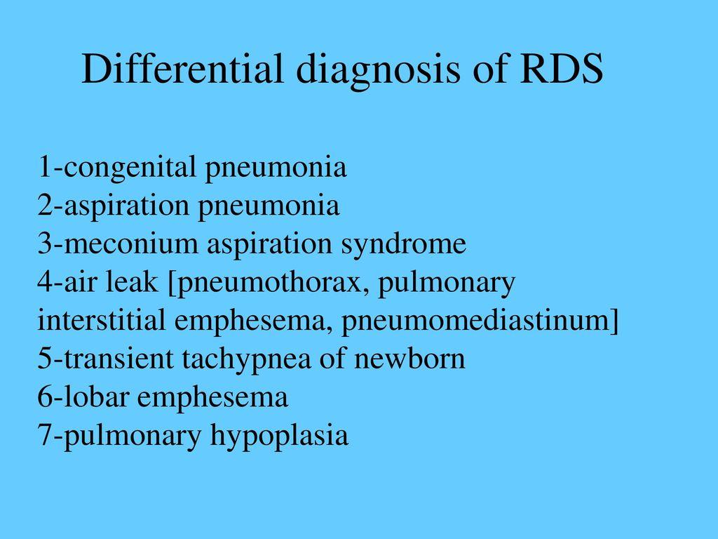 HYALINE MEMBRANE DISEASE RESPIRATORY DISTRESS SYNDROME - ppt