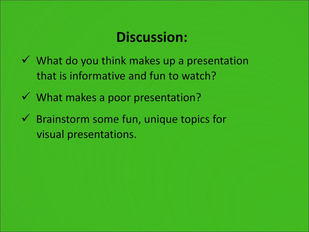 Perfecting Presentations - ppt download
