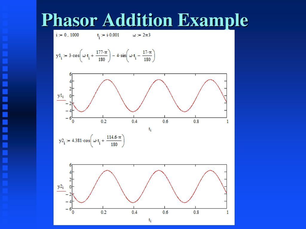 Engs2613 Intro Electrical Science Week 13 Dr George Scheets Ppt Circuitlab Rlc Bandstop Filter 4 Phasor Addition Example
