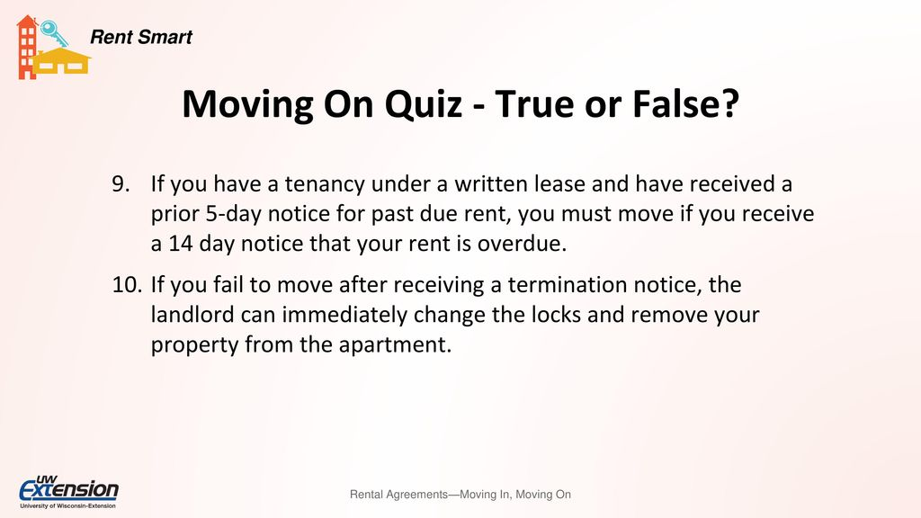 Rental agreements moving in moving on ppt download 10 moving altavistaventures Choice Image