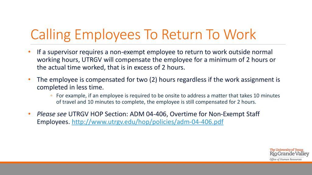 exempt employee vs non exempt in texas