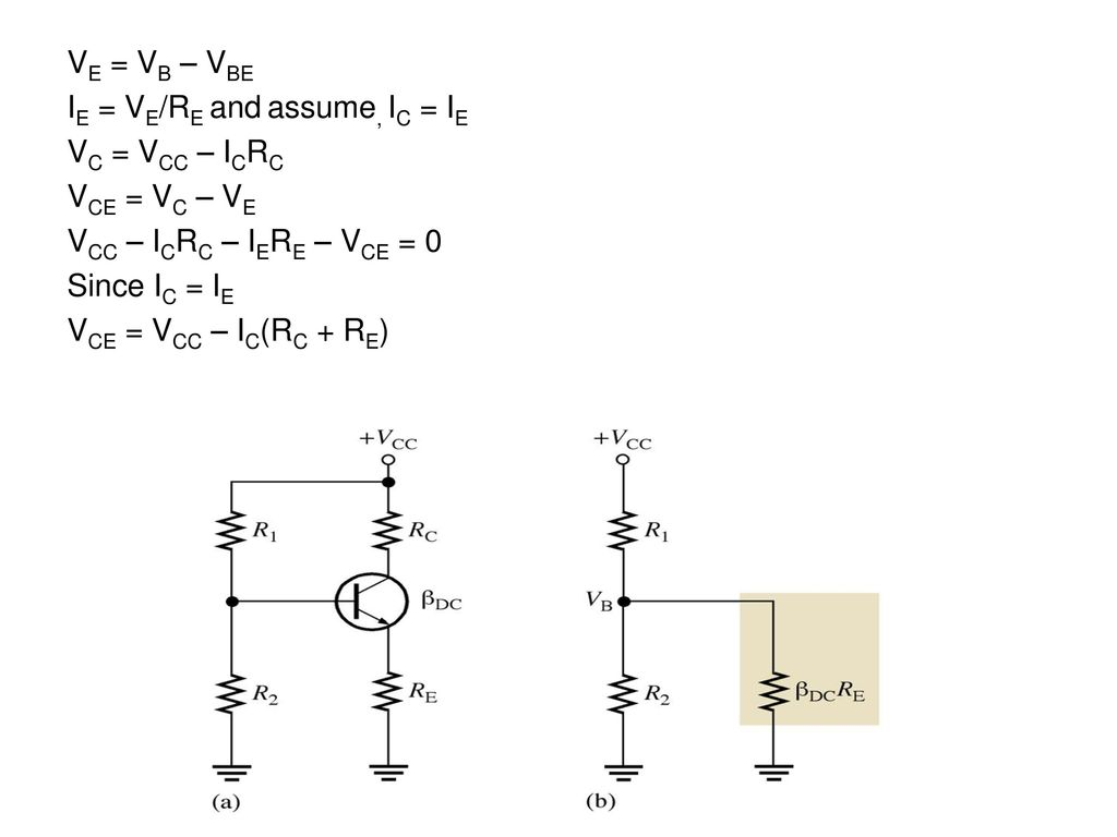 Voltage Divider Bias Is The Most Widely Used Circuit Of A Bjt 4 Ve