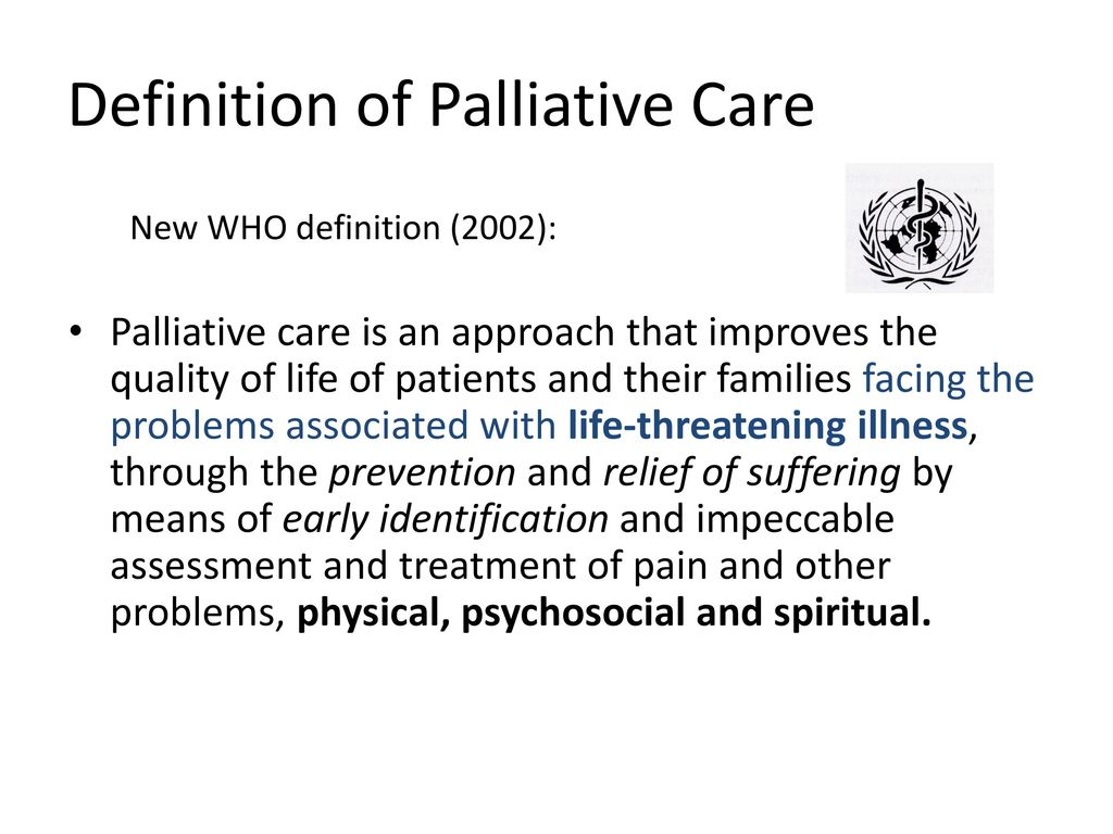 palliative care in cystic fibrosis: an integrative model of care