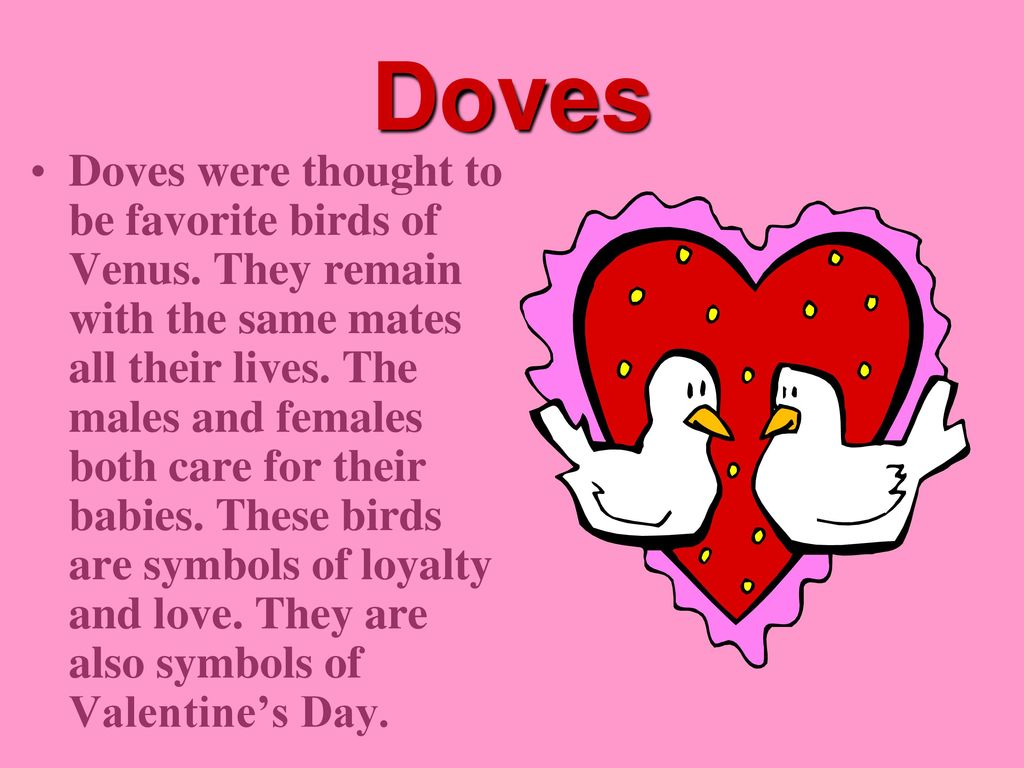 Symbols Of The Stlentines Day Ppt Download