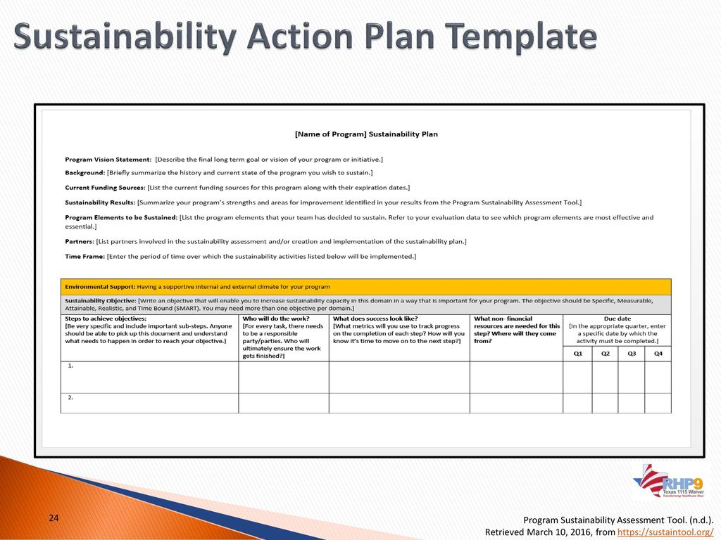 Rhp 9 learning collaborative raise the floor webinar ppt download sustainability action plan template maxwellsz