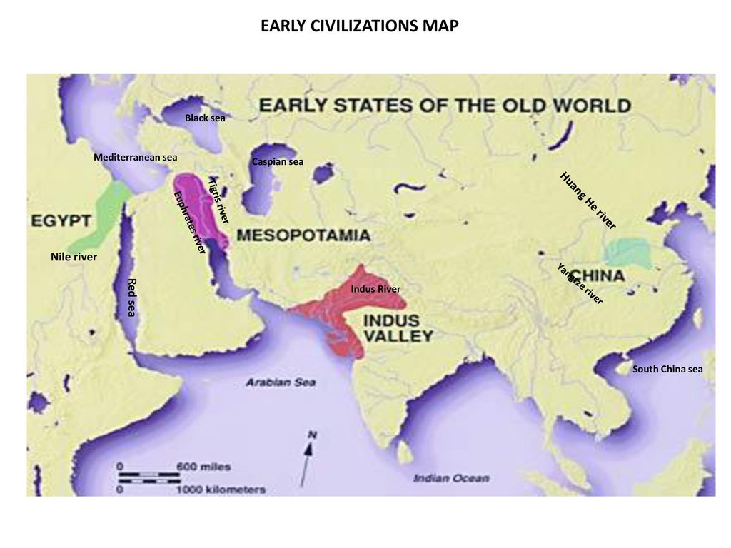 CLASS WORK Early civilizations: map activity (TEXT BOOK page 68 ...
